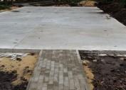 Заливка бетоном под спортивное покрытие