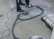 Шлифовка бетонного пола. Склад Hoff