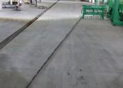 Укладка бетонного пола в цехе КРТ г. Острогожск